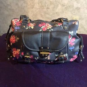 👛 Rosetti* Painted Floral Purse